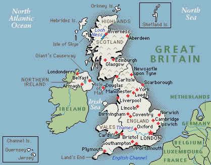 three day UK weather forecast by wijkie ruiter